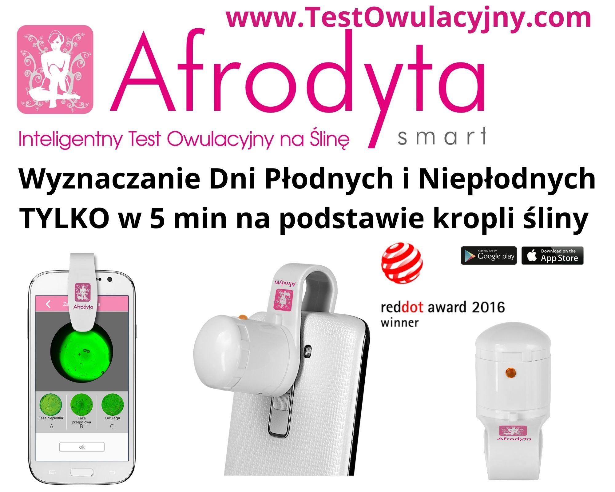 Monitor Płodności Afrodyta Smart na smartfon